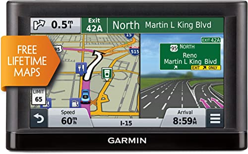 Garmin n vi 66LM GPS Navigators System with Spoken Turn-By-Turn Directions, Preloaded Maps and Speed Limit Displays USA and Canada