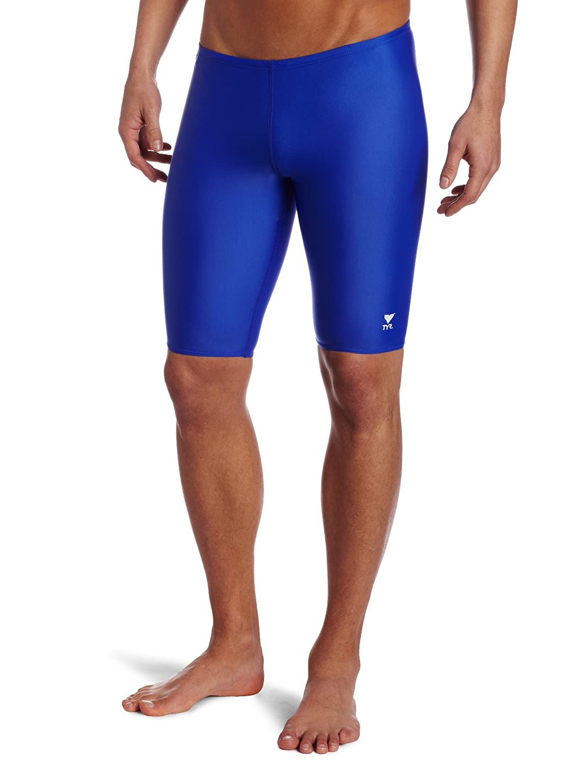 TYR Sport Men's Solid Jammer Swim Suit RJAM1A