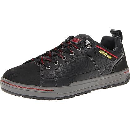 Caterpillar Men's Brode Steel Toe Work Shoe,Pepper,12 M US