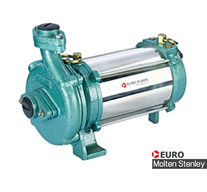 Euro Pumps and Systems Euro-Molten Stanley Copper Coil and Aluminium 1HP  Openwell Submersible Pump