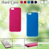 iPhone5/5s/5SE アイフォン5 スマホ ハードケース 製造・販売実績400万個のケース シングルカラー(全8色) ピンク ブルー ブラック レッド クリア [シンプル/鉛筆コード3HのUVハードコート塗装]S-P5SC1 Happy Film Kyoto (パールホワイト)