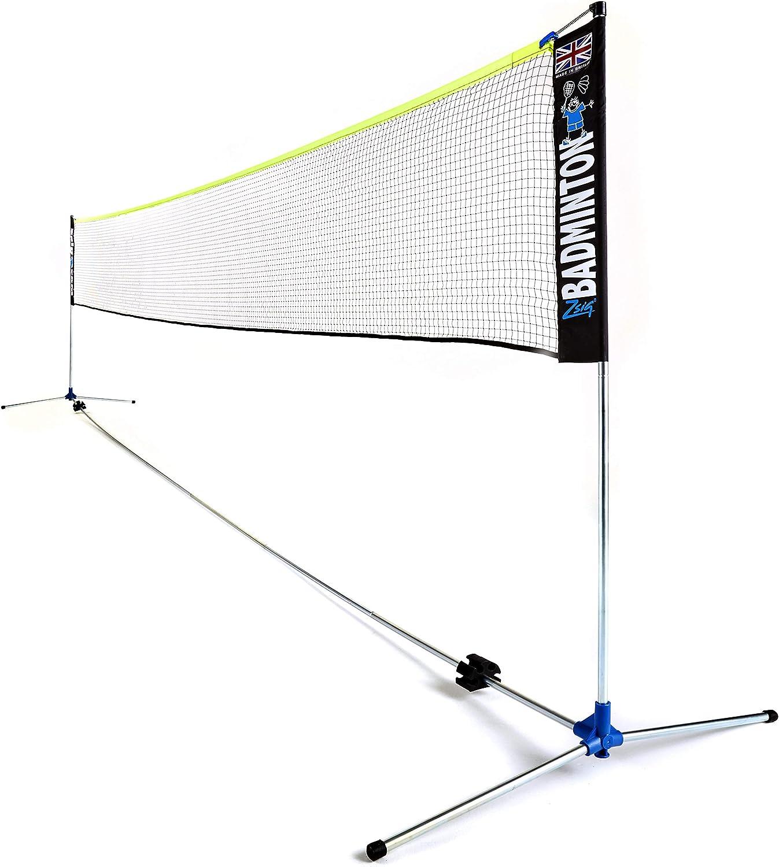 Amazon Com Zsig Pro Badminton Net 6m Portable Coaching Quality Sports Outdoors