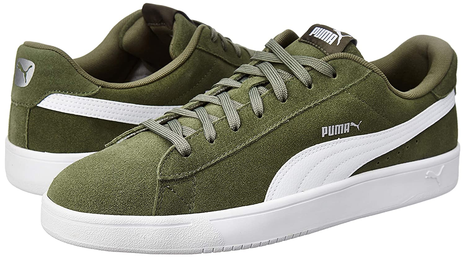 Puma Boy s Court Breaker Derby Sneakers  Buy Online at Low Prices in India  - Amazon.in 38e5b1e3d