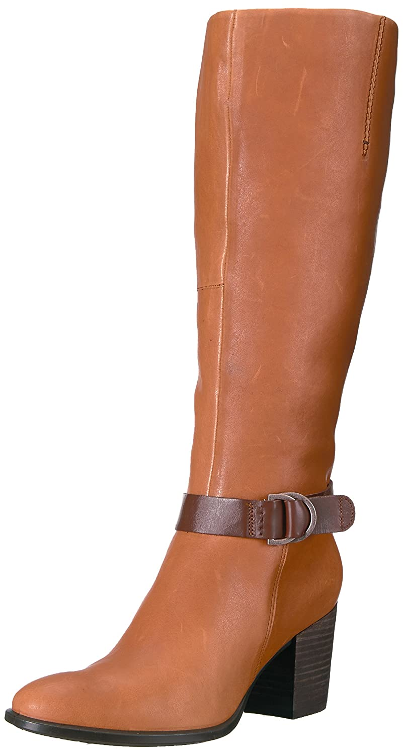 ECCO Women's Women's Shape 55 Tall Riding Boot B01MZDE1W9 41 EU / 10-10.5 US|Cognac/Mink