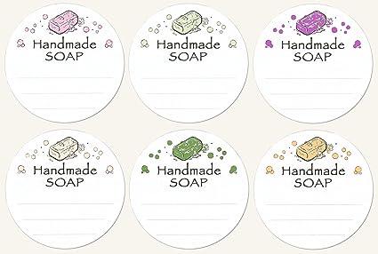 144 1 2 3 Pre Printed Design Handmade SOAP