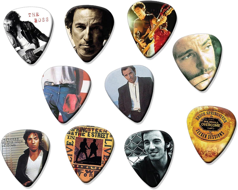 Bruce Springsteen (limitada a 150 juegos) Set de 10 púas de ...
