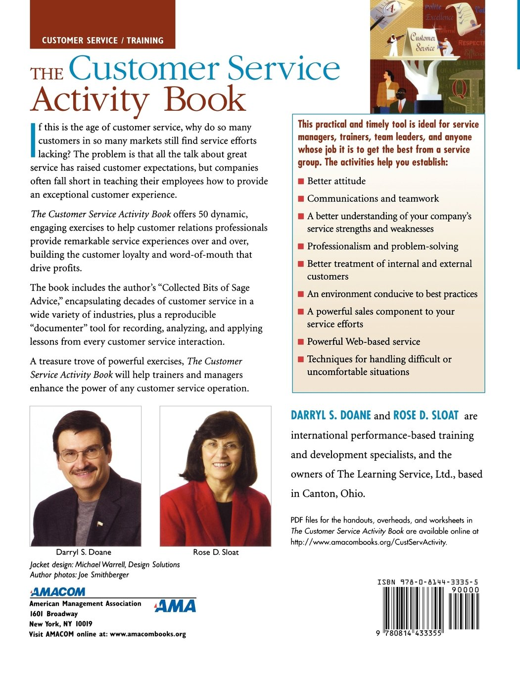 The Customer Service Activity Book: 50 Activities for Inspiring ...