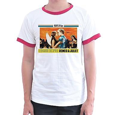 f1defb9cf inse homemade leonardo dicaprio romeo and juliet oscar t-shirt (Medium)