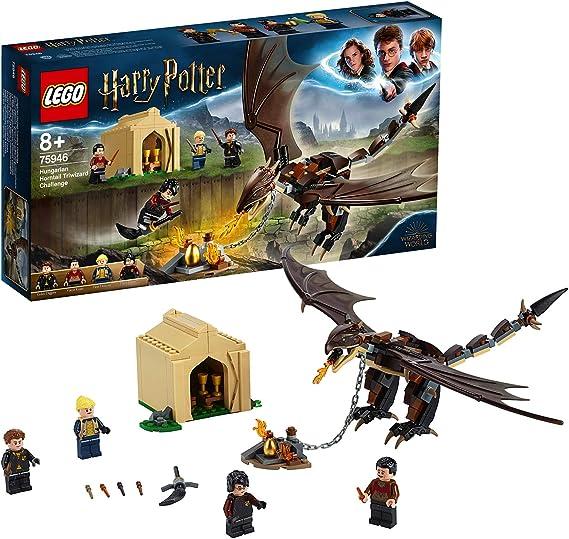 Lego Harry Potter Desafío De Los Tres Magos Colacuerno Húngaro Set De Construcción De Juguete Para Recrear Mágicas Aventuras Incluye Minifiguras De Los Personajes 75946 Amazon Es Juguetes Y Juegos