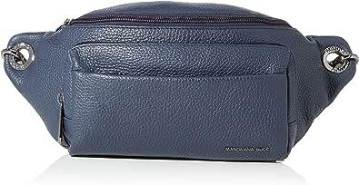 Mandarina Duck Mellow Leather Belt Bag/Nero, Bolsa de Mensajero para Mujer, 0.01x0.01x0.01 Centimeters (W x H x L)