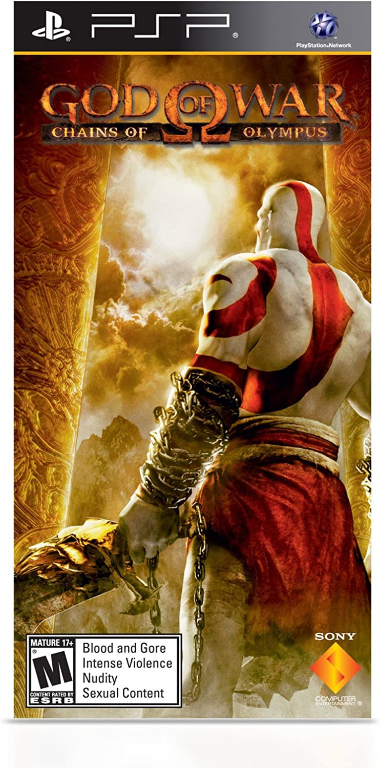 Amazon.com: PlayStation Portable Limited Edition God of War Ghost of Sparta  Entertainment Pack - Red/Black: Video Games