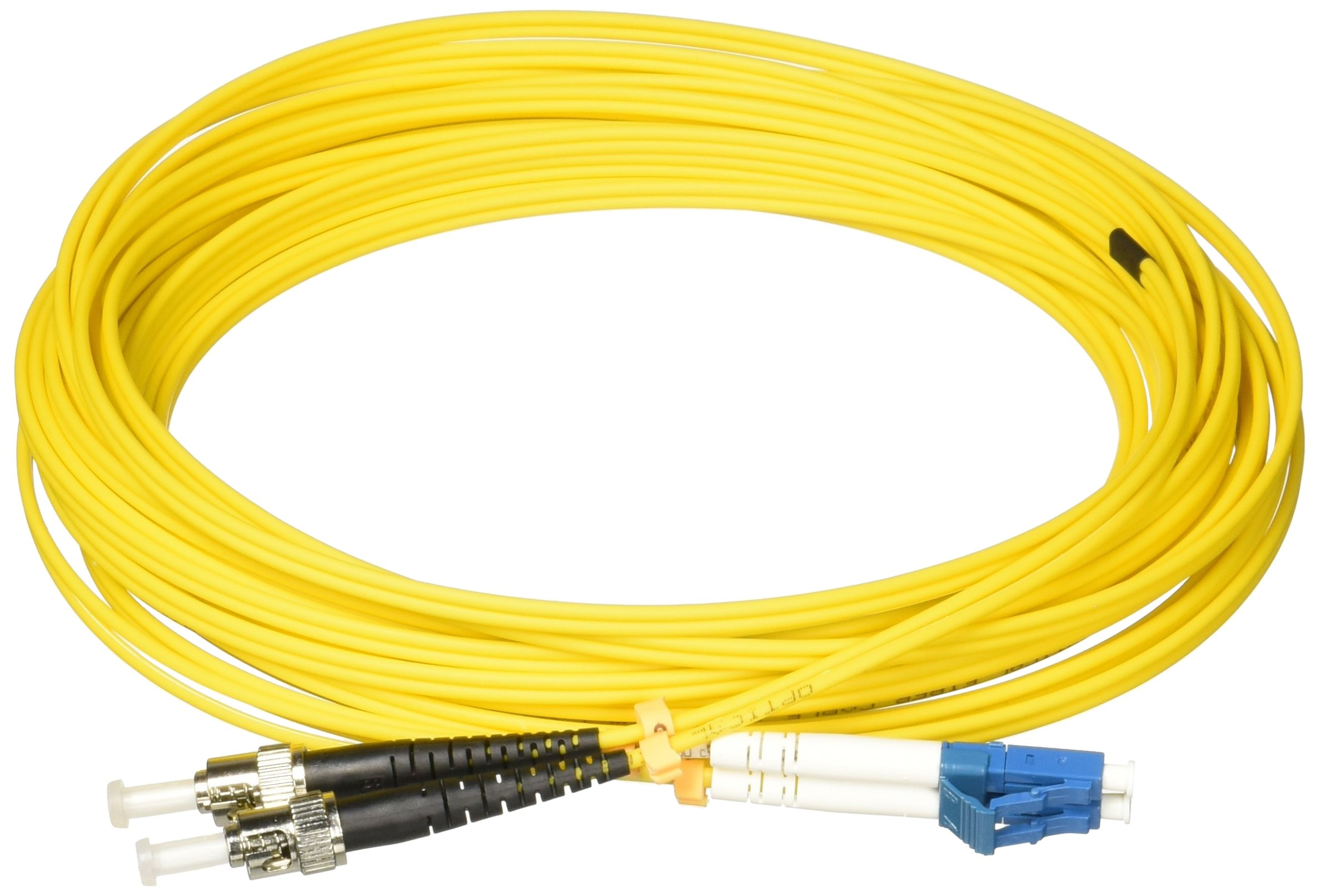 AddOn 10m Single-Mode fiber (SMF) Duplex ST/LC OS1 Yellow Patch Cable