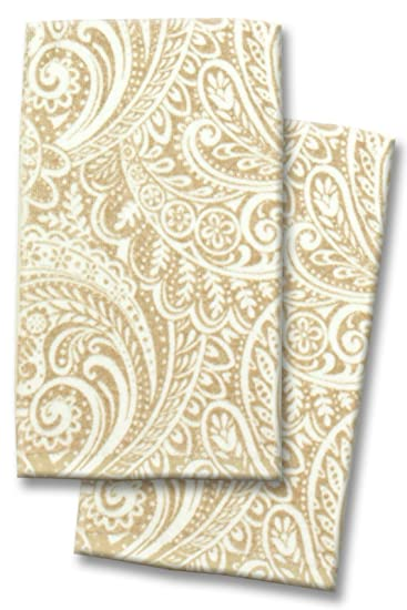 WAVERLY EASY BREEZY PEVA TABLECLOTH AND ACCESSORIES, KITCHEN TOWELS (2  PACK), LINEN