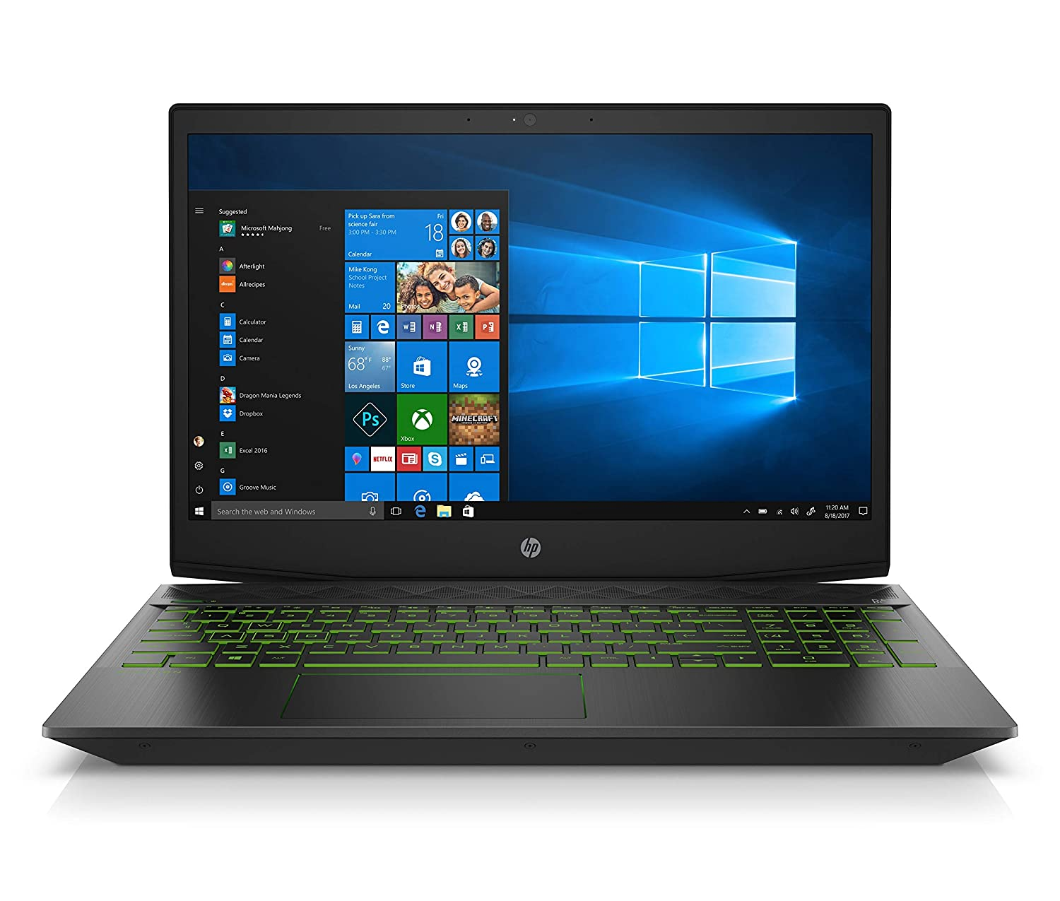 HP Pavilion 15-cx0058wm 15.6in Gaming Notebook – Intel Core i5-8300H, NVIDIA GeForce GTX 1050 4GB GPU, 8GB RAM, 16 GB Intel Optane 1TB HDD Storage, Windows 10 Renewed