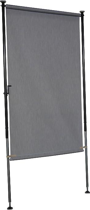 angerer balkon sichtschutz style granit 270 x 150 x 225 cm 2317 005