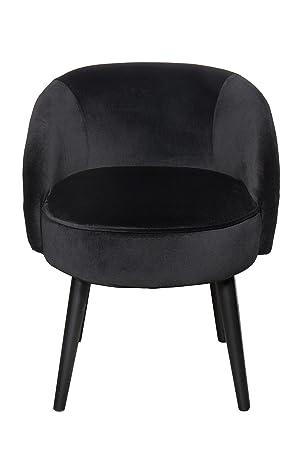 Stuhl Sessel Hocker Mit Lehne Schwarz 489 Amazon De Kuche Haushalt