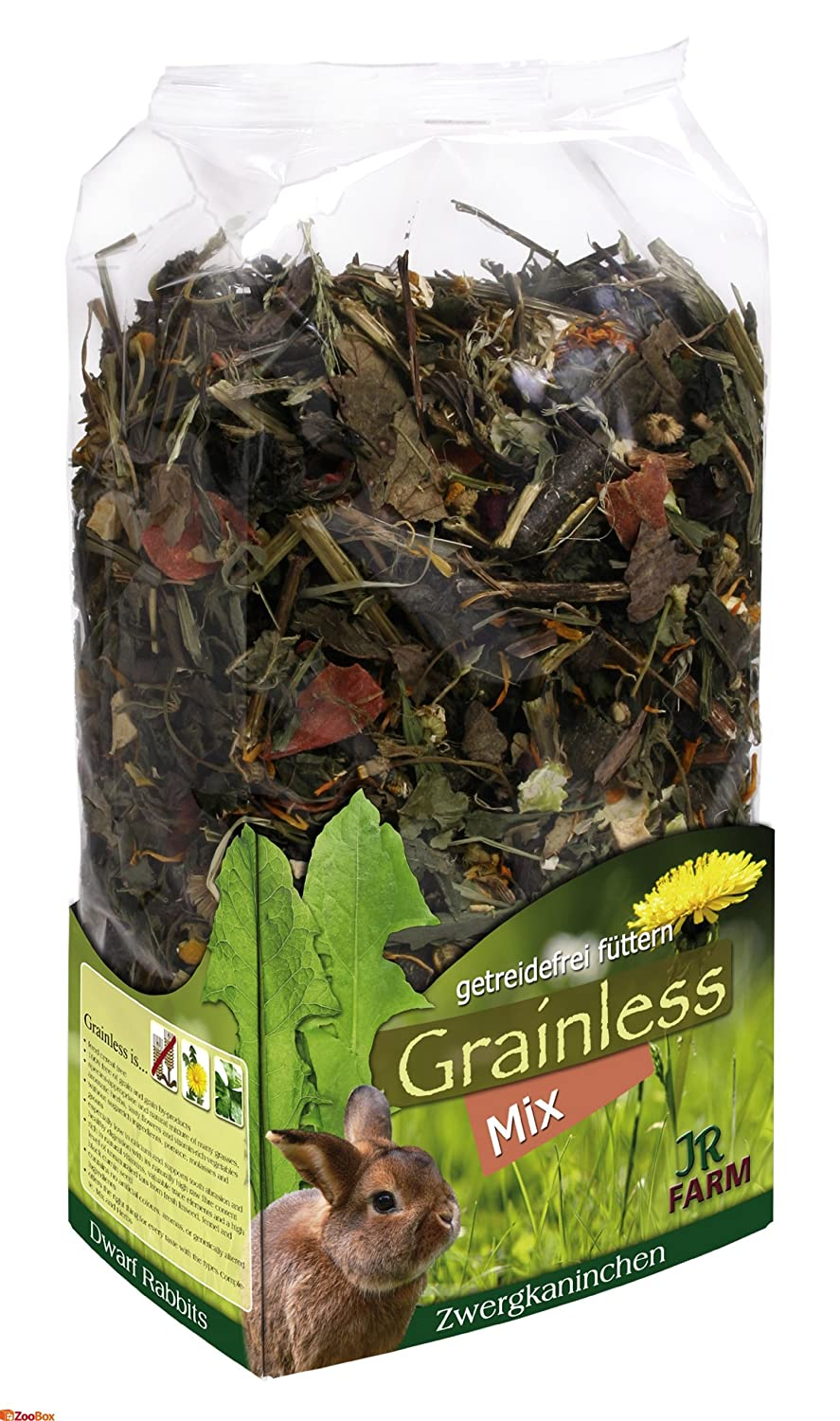 Jr Farm Grainless mix para conejos enanos Jrfarm