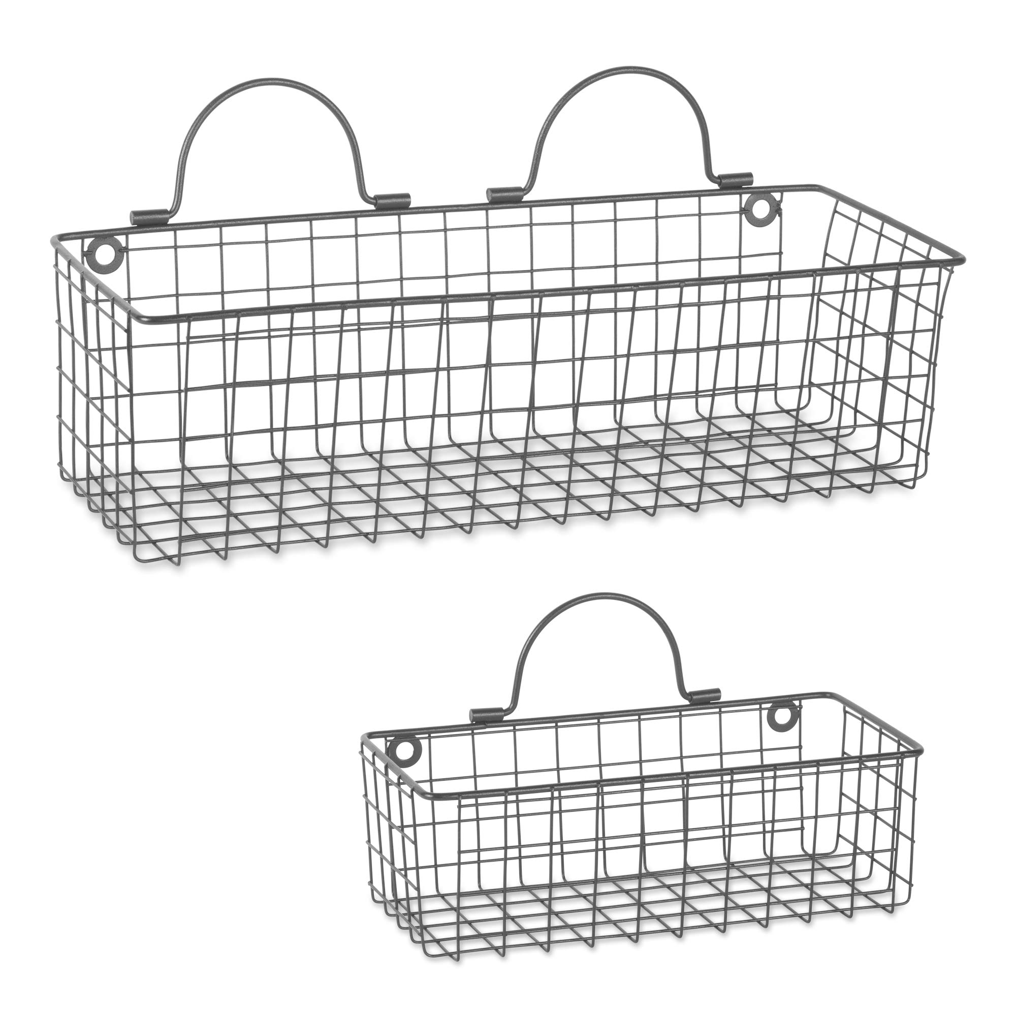 Best farmhouse wire baskets for wall   Amazon.com