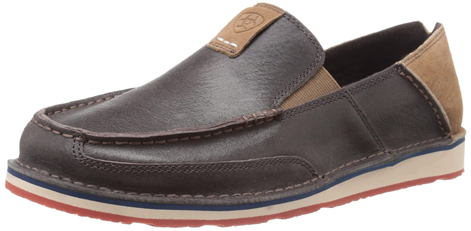Ariat Men's Cruiser Slip-on Shoe B014MGLQDM 10 2E US|Earth Brown/Hunter