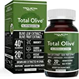 Total Olive, Olive Leaf Extract (40% Oleuropein) Plus Olive Fruit Extract (20% Hydroxytyrosol) Grown & Extracted in Spain, DN