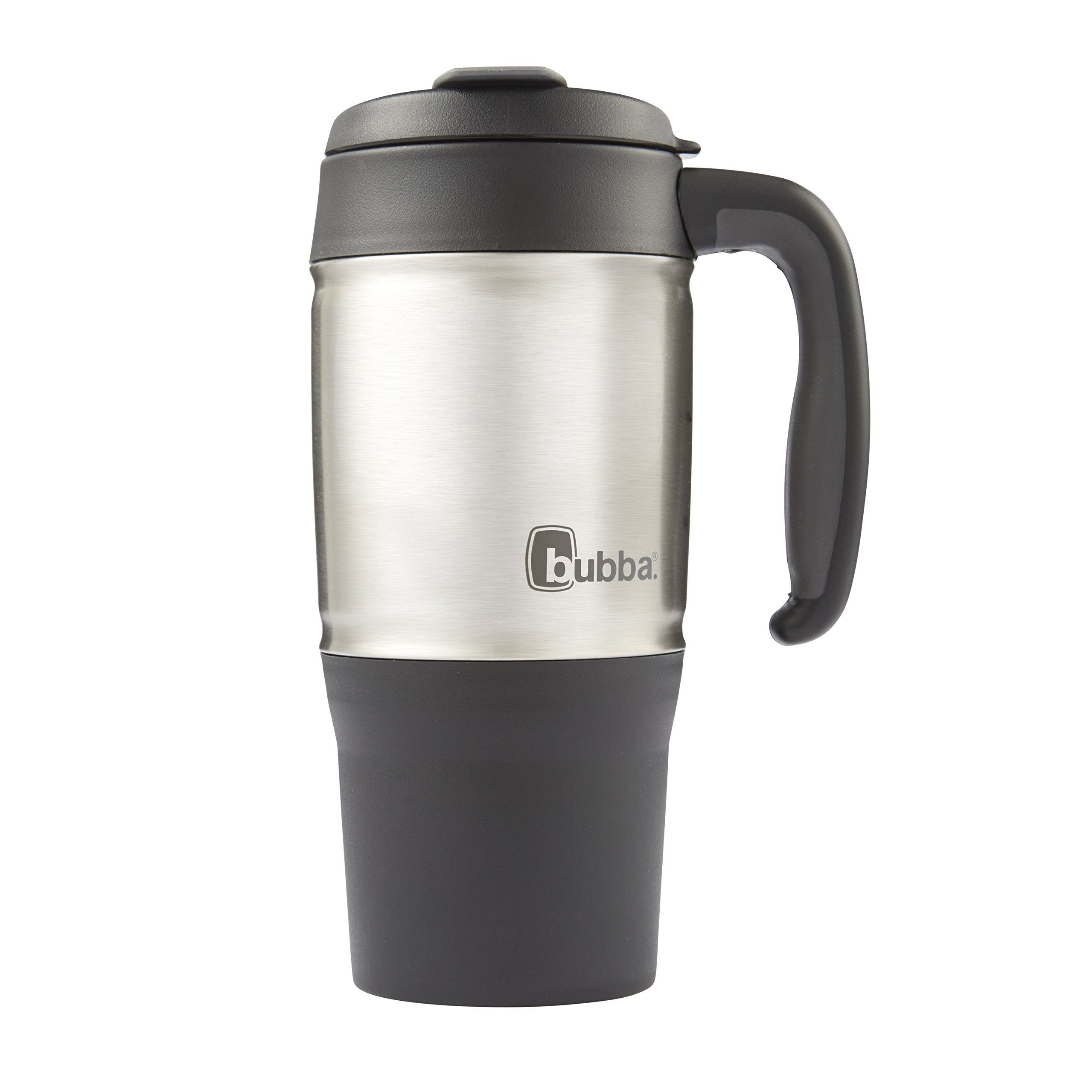 18 oz hot cold insulated travel coffee mug thermos tea cup double wall tumble ebay. Black Bedroom Furniture Sets. Home Design Ideas