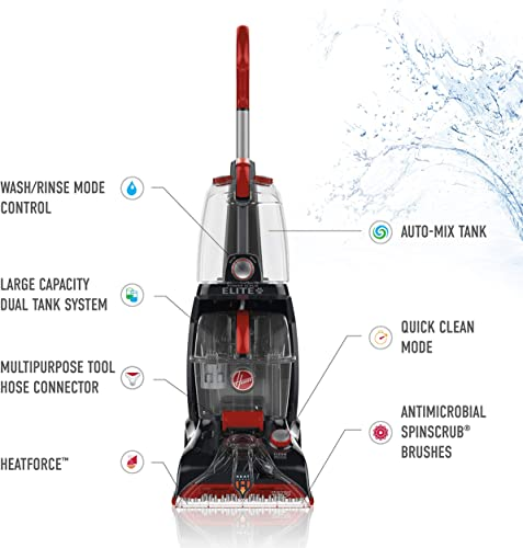 Hoover power scrub elite review