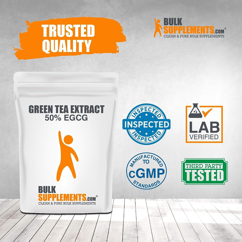 Bulksupplements Green Tea Extract 50% EGCG Powder (100 Grams): Health & Personal Care