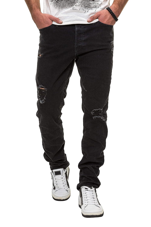 Jack & Jones Hombre Tim Original 703 Slim Fit Jeans, Negro: Amazon.es: Ropa y accesorios
