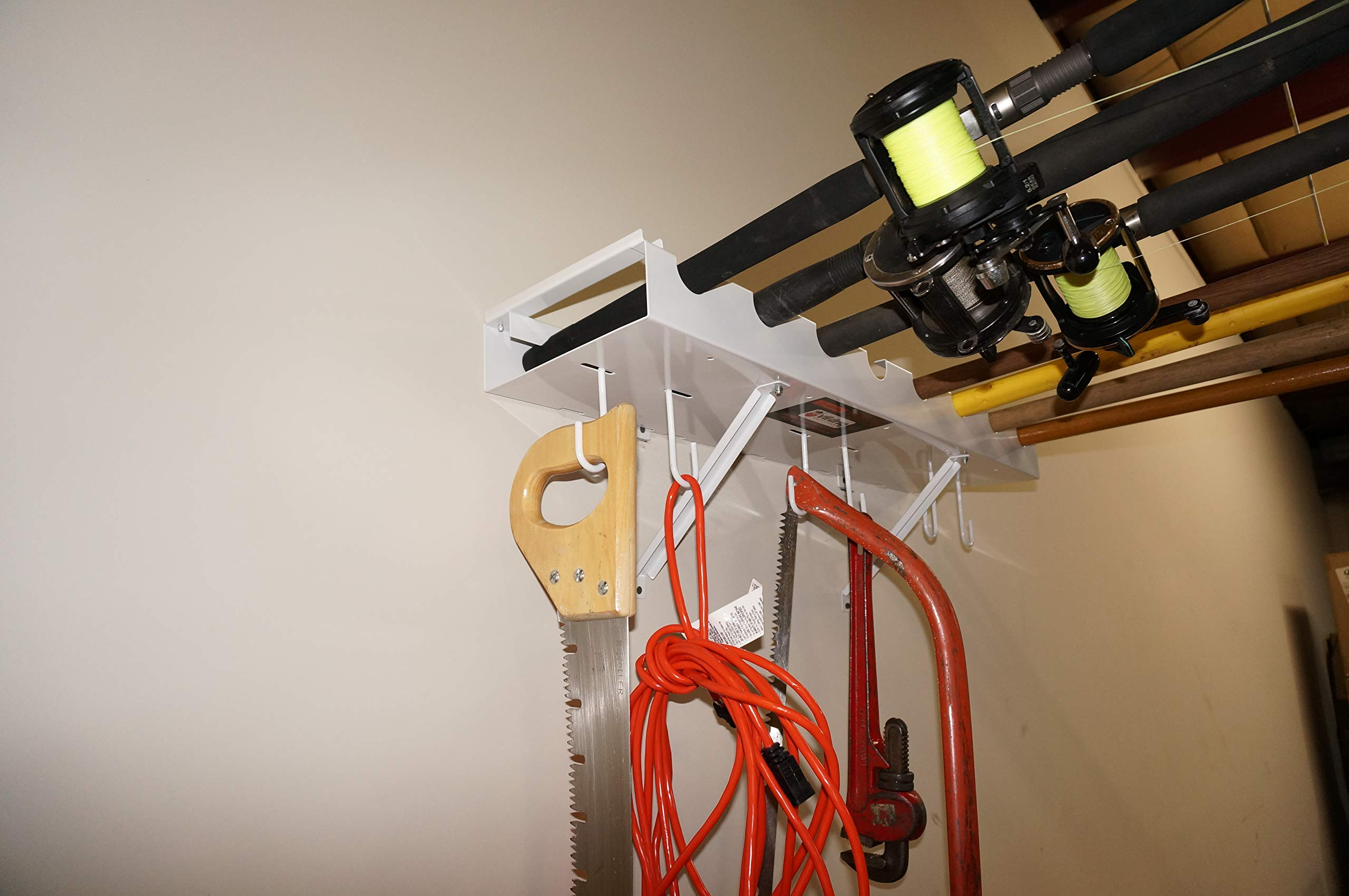 Viking Overhead Wall Mount Tool-Fishing Rod Holder by Viking Solutions (Image #4)
