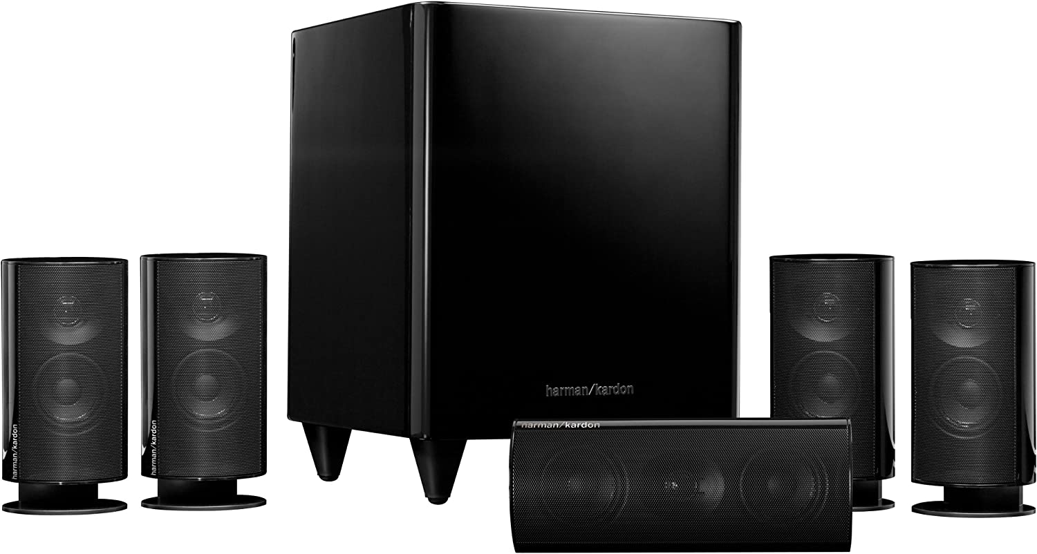 Harman Kardon HKTS20BQ 5.1 Home Theater Speaker System (Black)