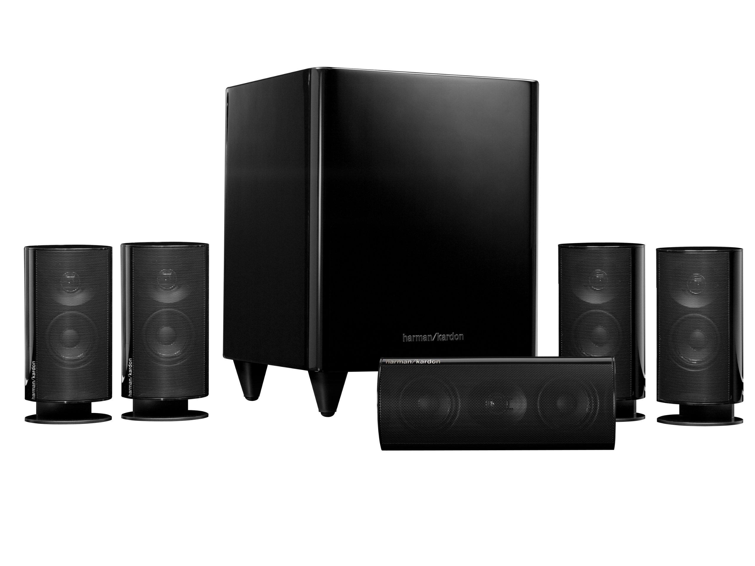 Harman Kardon HKTS 20BQ 5.1 Home Theater Speaker System (Black) by Harman Kardon