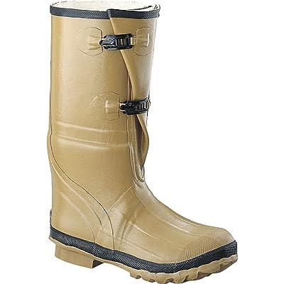 "Ranger 16"" Heavy Duty Men's Rubber Insulated Work Boots, Marsh Brown (78590): Home Improvement"