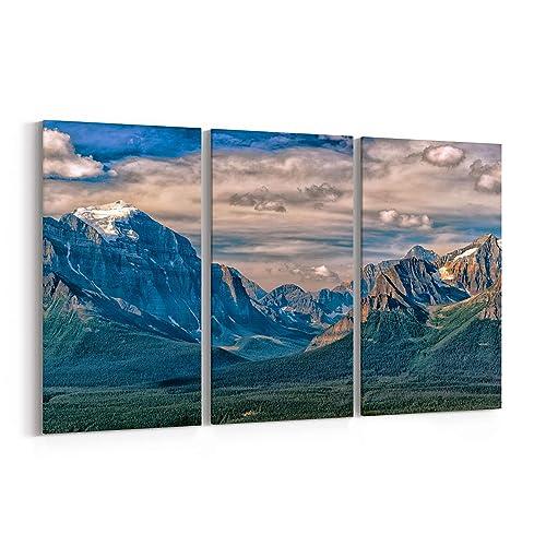 Amazon Com Canada Rocky Mountains Canvas Print Canada Rocky