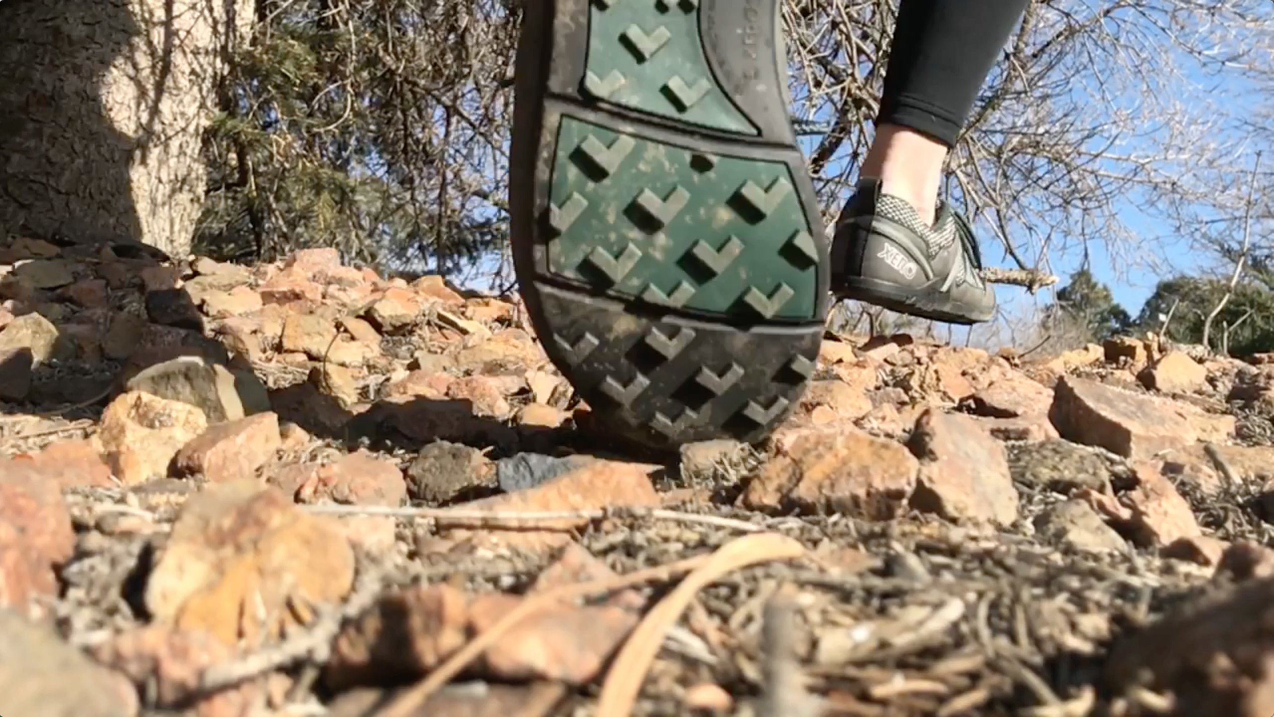 Xero Shoes TerraFlex Trail Running Hiking Shoe - Minimalist Zero-Drop Lightweight Barefoot-Inspired - Men, Forest Green, 10 D(M) US by Xero Shoes (Image #6)