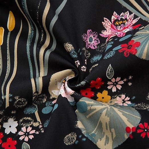 PAUL JONES Damska Schulterfrei Swing Kleid Party Picknick Kleid: Odzież