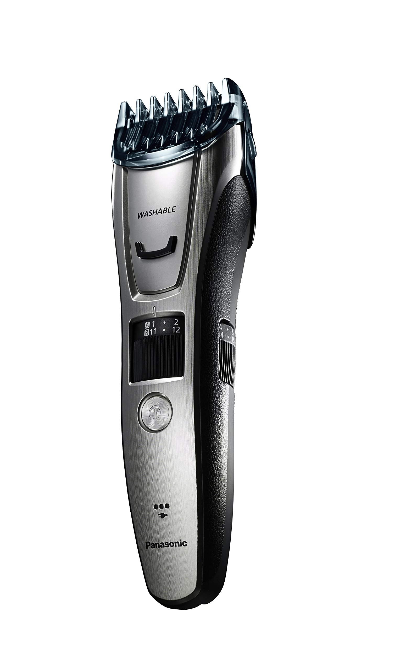 Panasonic ER-GB80-S Body and Beard Trimmer, Hair Clipper, Men's, Cordless/Corded Operation with 3 Comb Attachments and 39 Adjustable Trim Settings, Washable by Panasonic (Image #9)