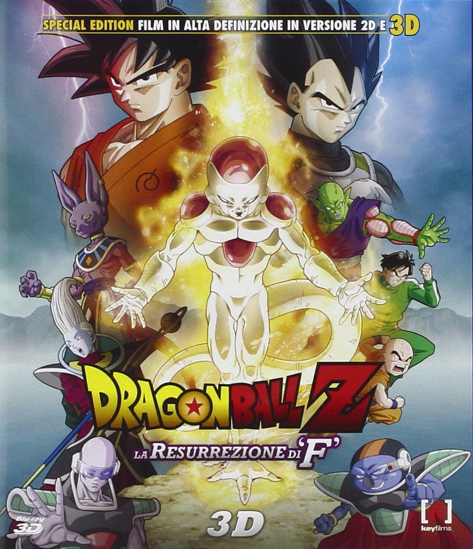 Dragon Ball Z - La Resurrezione di F Blu- Ray 3D ;Doragon Boru Z ...