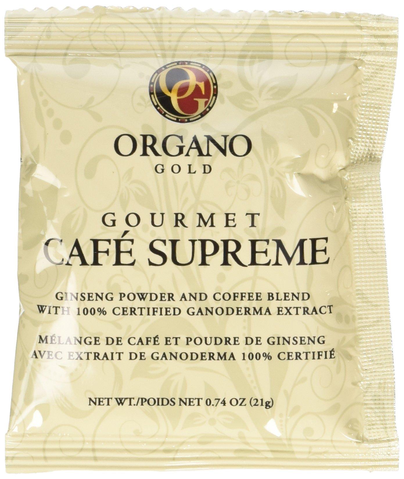 organo gold gourmet black ganoderma coffee 1 box of