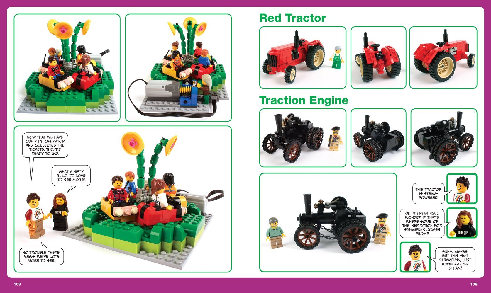 The lego adventure book vol 3 robots planes cities more megan h rothrock 9781593276102 amazon com books
