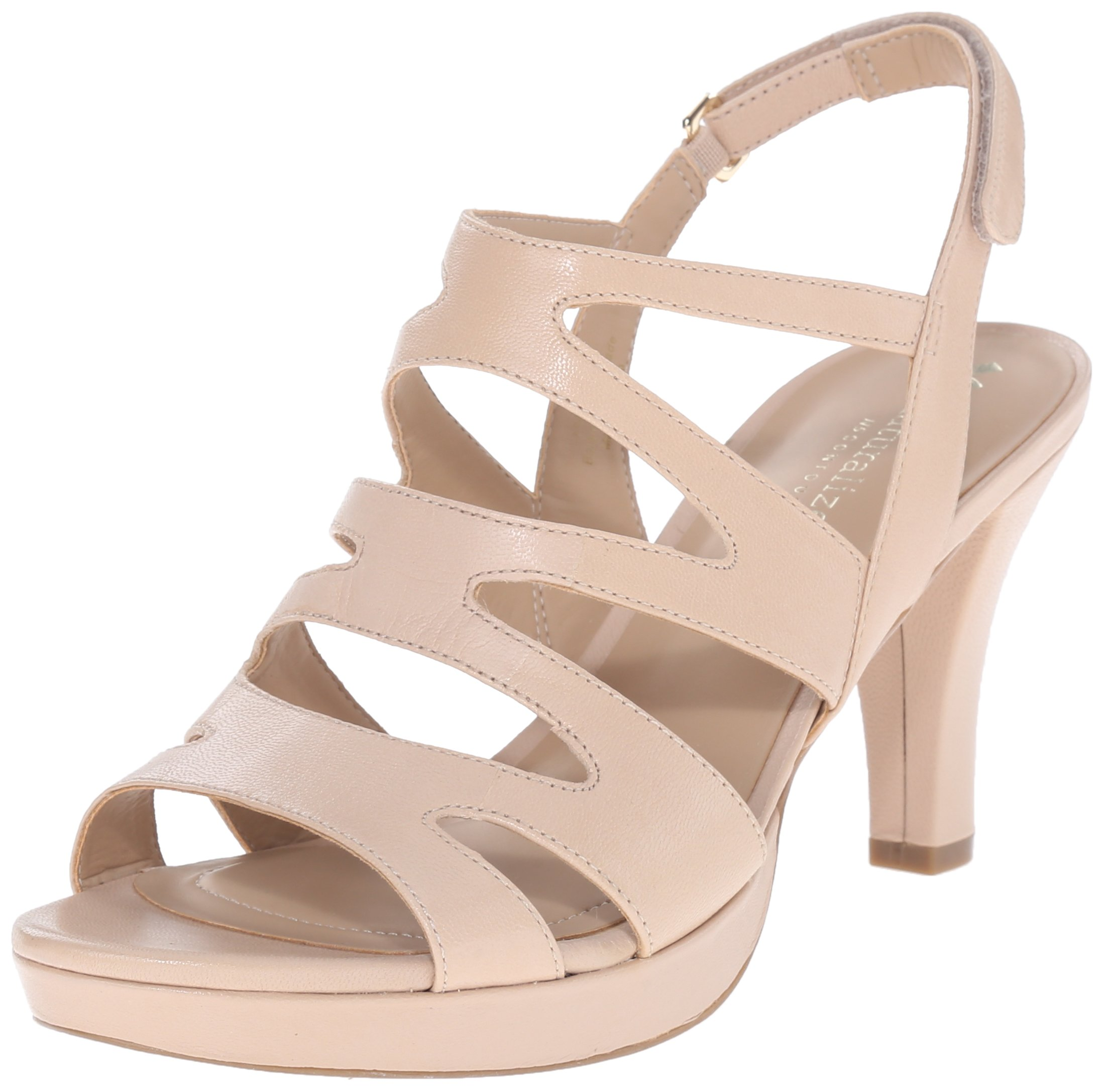 5073cb4106c4 Galleon - Naturalizer Women s Pressley Platform Dress Sandal