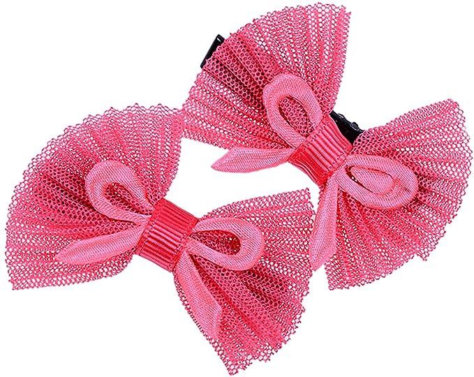 Paar Cute Polka Dots Schleifen BOW Haarspange Rockabilly Retro 50s Haarschmuck