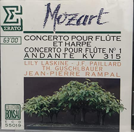 Concerto pour flûte et harpe - Concerto pour flûte n°1 - Andante kv315