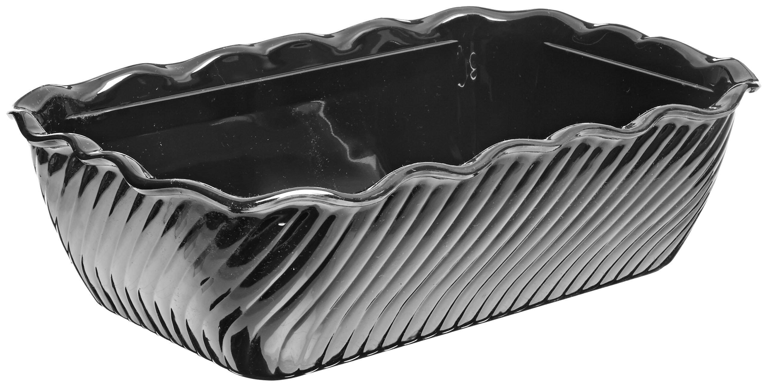 Carlisle 696303 Tulip Deli Food Display Crock, 5 Pound, Black (Pack of 6) by Carlisle (Image #2)
