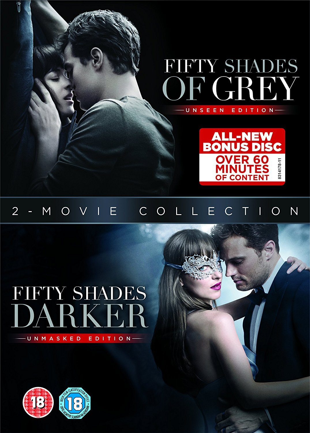 Amazon Com Fifty Shades Darker Fifty Shades Of Grey Dvd Double Pack Movies Tv
