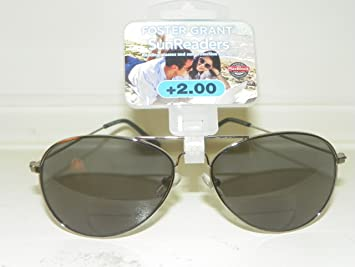 b9a18c09d7f Image Unavailable. Image not available for. Color  2.0 Foster Grant Aviator  Reading Glasses ...