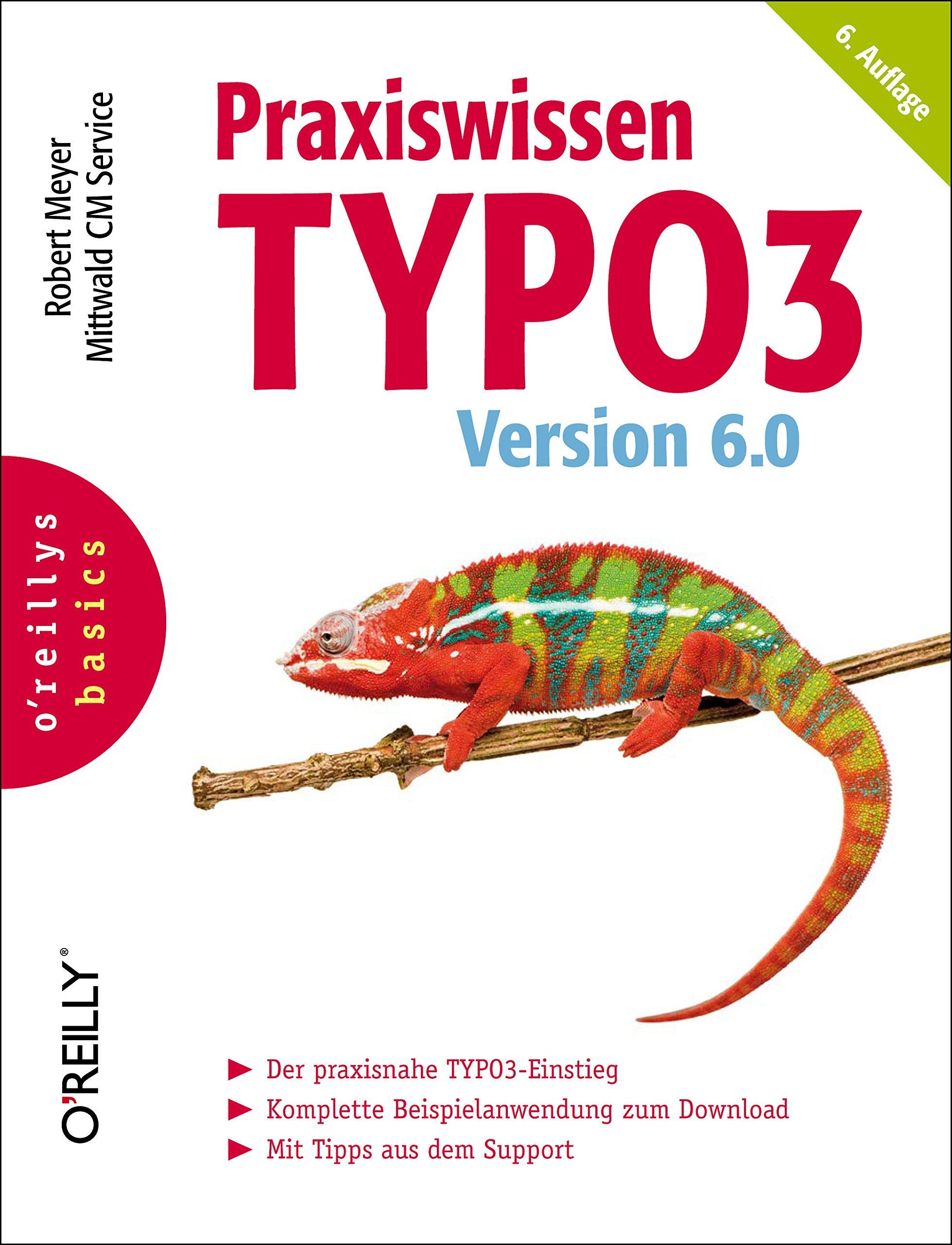 Praxiswissen TYPO3 Version 6.0 Taschenbuch – 1. Januar 2013 Robert Meyer 3868998896 Content Management Internet
