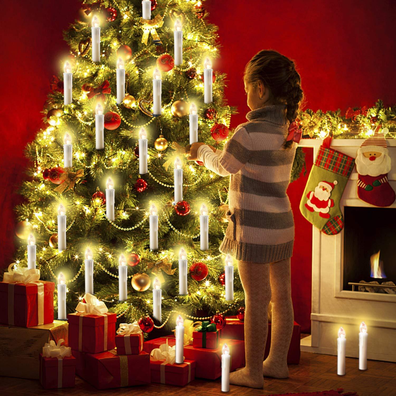 20 30 40 50 60 stk LED LED LED Kerzen LED Lichterkette Kabellos Dimmbar Kerzenlichter Flammenlose Weihnachtskerzen für Weihnachtsbaum, Weihnachtsdeko, Hochzeit, Geburtstags, Party (milchweisse Hülle, 60stk) B07KWVXNZ8 Lichterketten 9e94b6