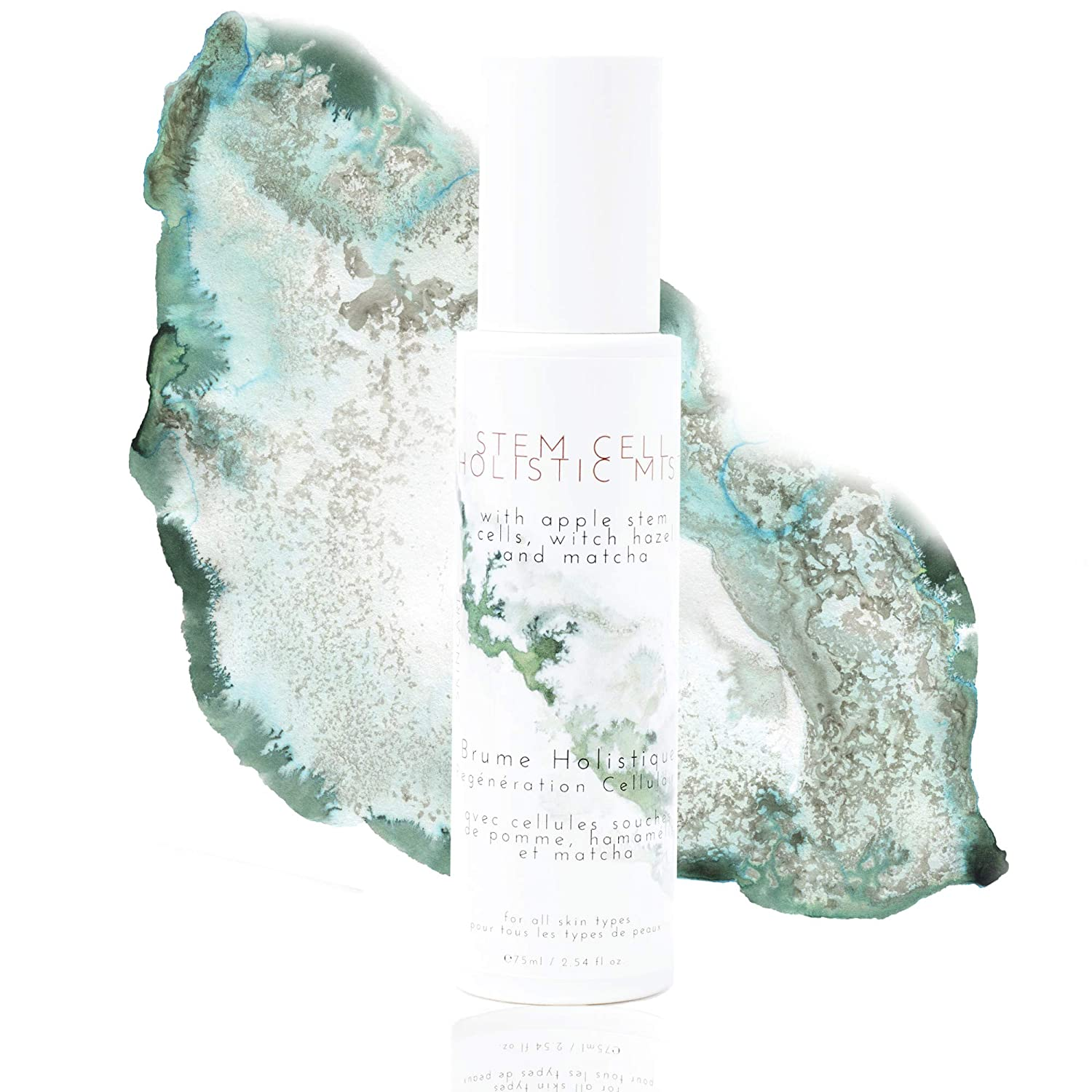 Stem Cell Holistic Mist - Apple Facial Toner - Hydrating Tightening Spray For Face - Made In Canada - Clean Ingredients - Female Owned - Première Classe Skincare - 75ml