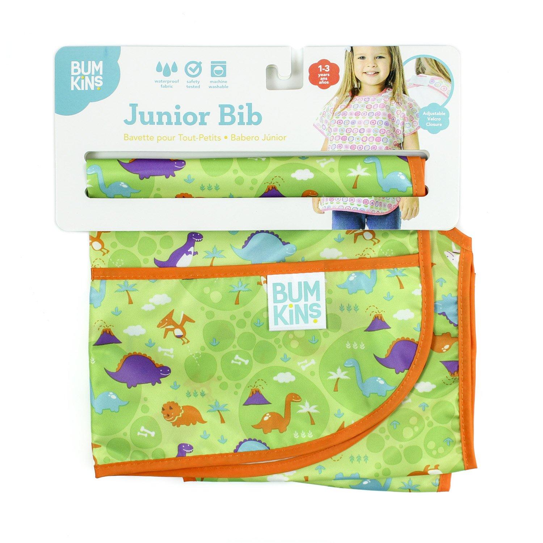 Bumkins Waterproof Junior Bib, Dinos (1-3 Years) by Bumkins (Image #3)