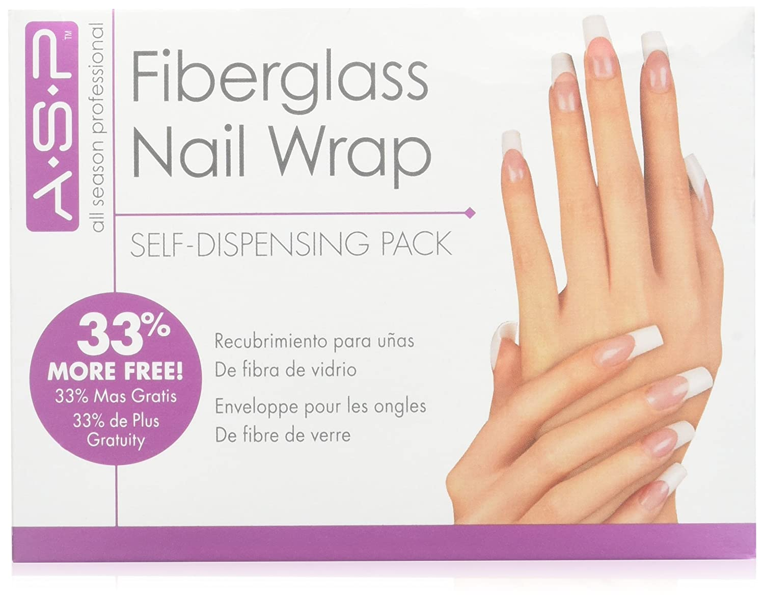 All Season Nail Fiberglass Nail Wrap STAR NAIL